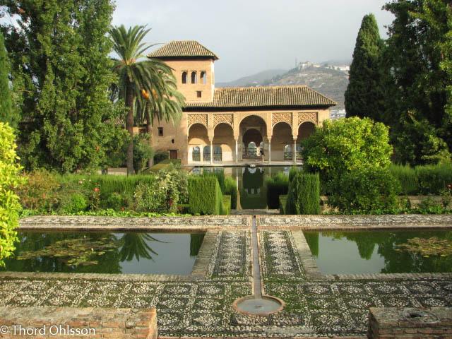 De underbara moriska trädgårdarna